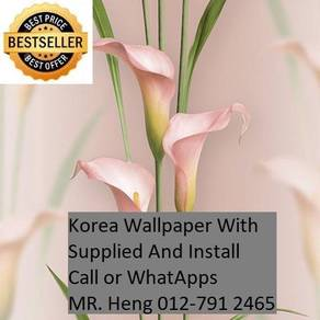 Design Decor Wall paper with Install 76r