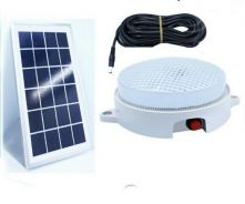 Lampu Solar Ceiling Light Camping Power Panel