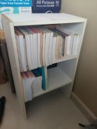 Book Rack and Stationary