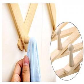 Telescopic Folding Bamboo Hook ( 10-70-01 )