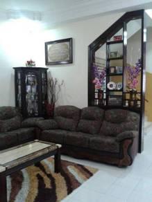 Taman Bayu Mutiara Double Sty Terrace, Bukit Mertajam Move in conditio