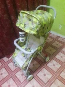Baby Stroller My Dear 18113 - Biru dan Hijau