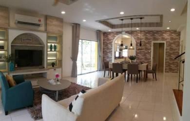 New 2 storey resort terrace with 8 thematic park , senawang