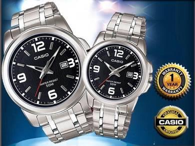 CASIO Couple Watch (2pcs)
