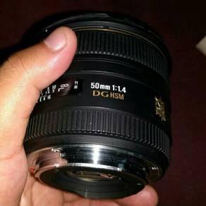 Sigma 50mm F1.4 DG Canon Mount