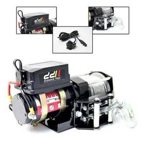12v 3000lbs atv winch steel cable 4wd 4x4