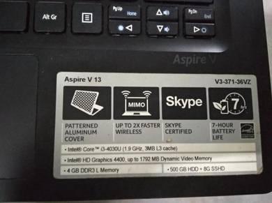 Acer Aspire V3-371 (board Rosak)