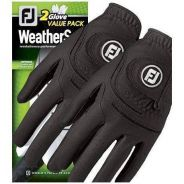 FJ Mens WeatherSof Golf Gloves - 2pcs
