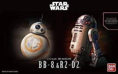 Bandai Model Kit R2-D2 BB-8