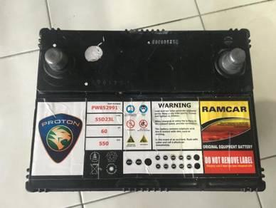 Battery 55D23L original RAMCAR