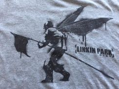 Official LINKIN PARK grey tshirt size S