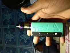 Tesla Cig.just Mod 85watt,battery,cotton