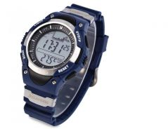 Jam SUNROAD LED Digital Fishing Barometer Watch