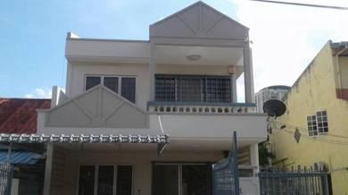 Jalan Ipoh Batu 3 2 storey house for Rent