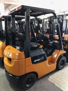 Japan Import Recond TOYOTA 1.5 Ton 7FG15 Forklift