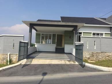 NEW Single storey SEMI D (75x70) Taman Bukit Belida Mambau Seremban