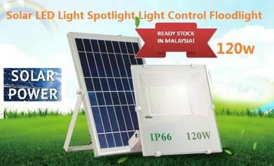 Solar LED Light Spotlight 120W Light Control Flood