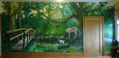 Pelukis Mural