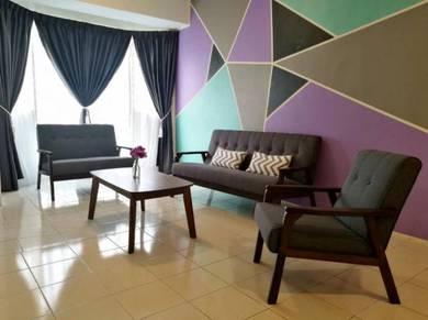Rhythm Avenue USJ19 Subang 3R2B Fully furnished Rent High floor Condo