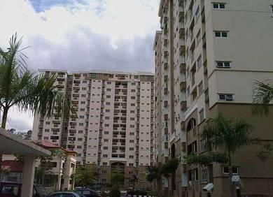 Villa Pavilion Condo Seri Kembangan 930sqft RENOVATED 100% Full Loan