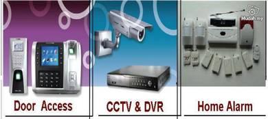 Smart Home Alarm System,CCTV, AUTOGATE