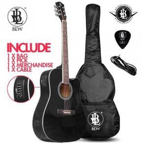 BLW 41 Inch Semi Acoustic Electric - 4EQ/Black