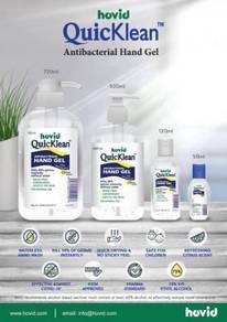 Quicklean hand sanitizer