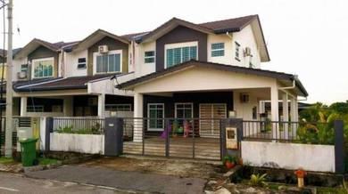 Rumah 2 Tingkat CORNER Besar untuk dijual