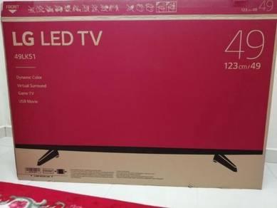 TV LG 49inci