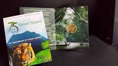 75 th Aniversary of Taman Negara Nordic Gold Coin