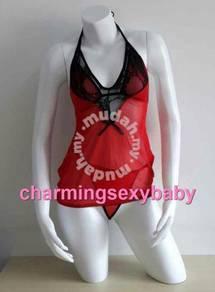 Costumes Babydoll Bikini Sleepwear Sexy Lingerie D