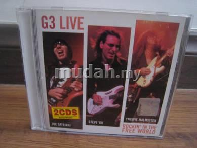 CD G3 Live - Satriani/Vai/Malmsteen 2CD
