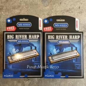 New Hohner Big River Harmonica 10 Holes (Germany)