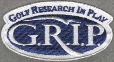 Golf Research In Play GRIP Badge PGA Patch