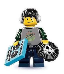 LEGO 8833 Minifigures Series 8 DJ