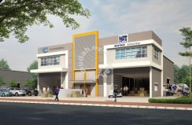 1.5 Storey Semi D Factory, Pusat Kamunting Raya