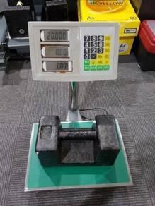 Platform scale timbang digital 60kg weighing