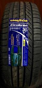 Tayar Goodyear excellence 215 55 17 Tyre New 2019
