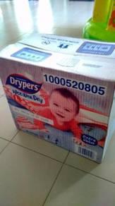Drypers Wee wee dry L size 9-14kg 44 pcs
