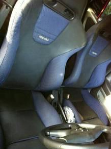 Evo 6 Recaro seat evo/wira/satria