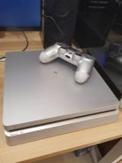 New PS4 (Silver- Limited Edition) - Jailbreaked