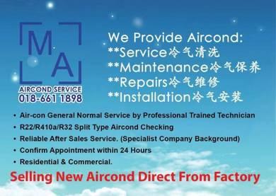 MA Aircond Sri Hartamas Murah