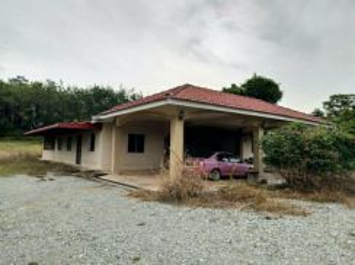 Tanah dan rumah untuk dijual Kampung Kubor Panjang, Pendang