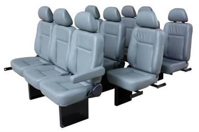 Toyota van hiace urvan 3 row 9 pcs new van seat