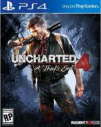 Uncharted 4 for sale.