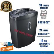 4.HEAVY DUTY paper shredder -CROSS cut (CD) -45YR
