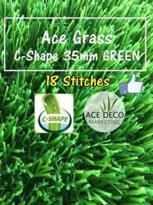 Ace C35mm Green Artificial Grass Rumput Tiruan 03