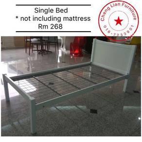 New Single Bed Frame 268 white