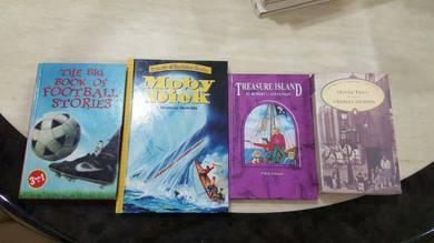 Teenager novels(4books)