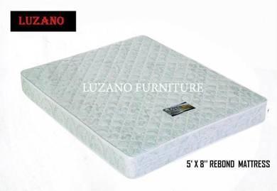 Queen size rebond mattress (M-5'x8'')20/06